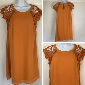 Altar'd State Cando Rust color Dress sz S